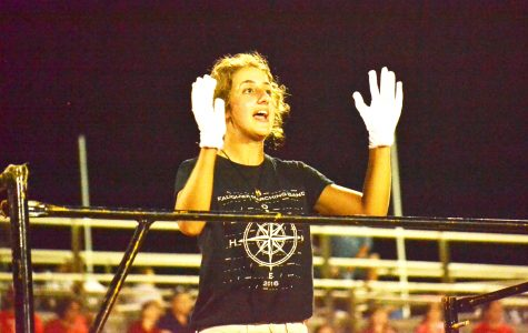 Marching band depicts journey home