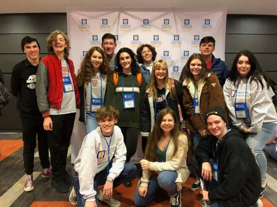 The+FHS+theater+students+spent+their+weekend+competing+and+performing+at+the+Virginia+State+Theater+Conference+at+Shenandoah+University.
