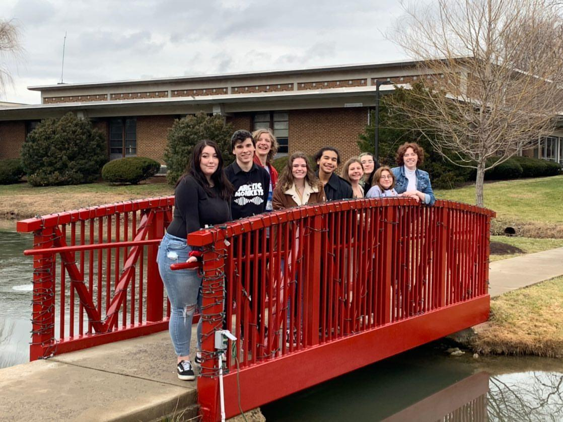 Theater students visit Shenandoah University to compete in the Virginia State Theater Conference.