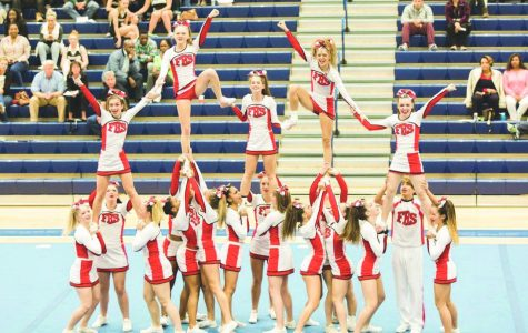 Cheer excels during season, falls at regionals
