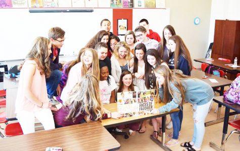 Yearbook captures school spirit