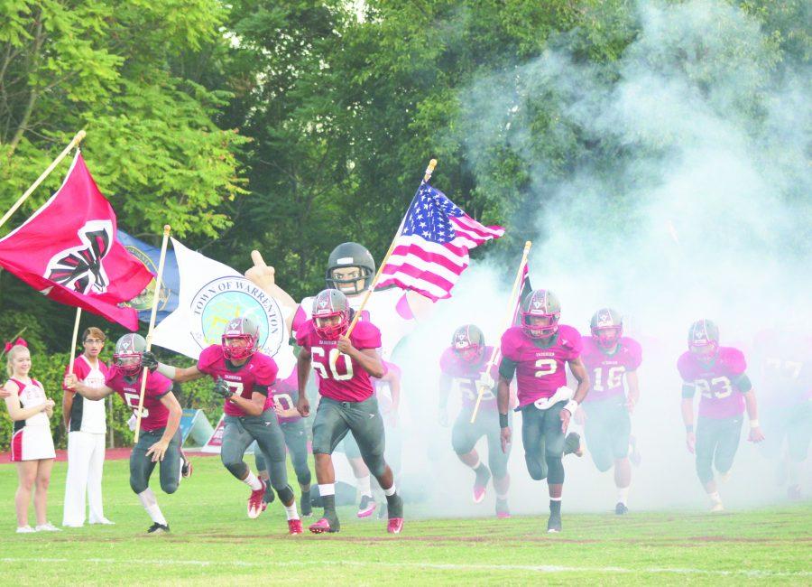 Football Frenzy: Falcons shine under the Friday night lights