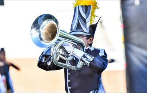 Martinez tours the country with Drum Corps International