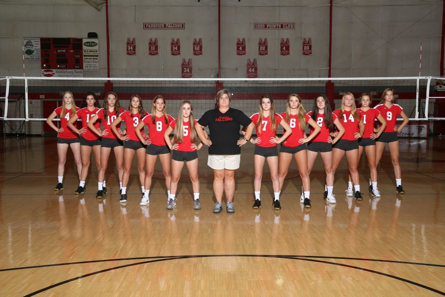 Volleyball sets up for new season