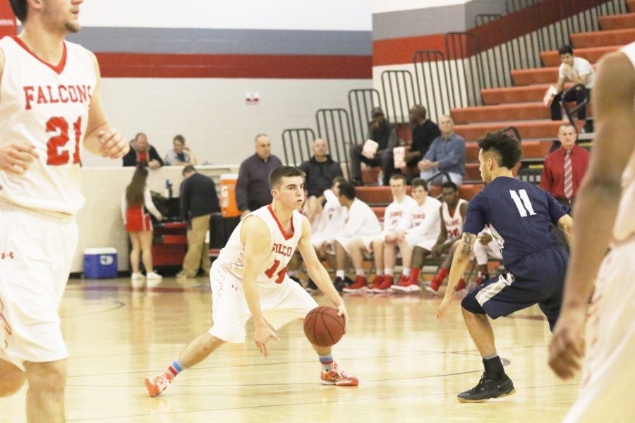 Boys basketball shoots into new season: Brizzi and the Falcons look to improve on eight-point record