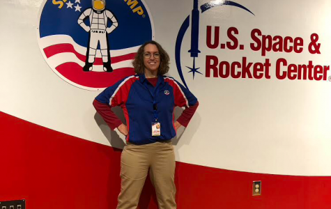 Copperthite Lives Her Dream at Space Camp