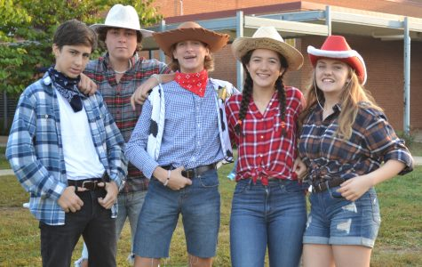 Cowboys are invading Fauquier High School as Spirit Week hype increases.