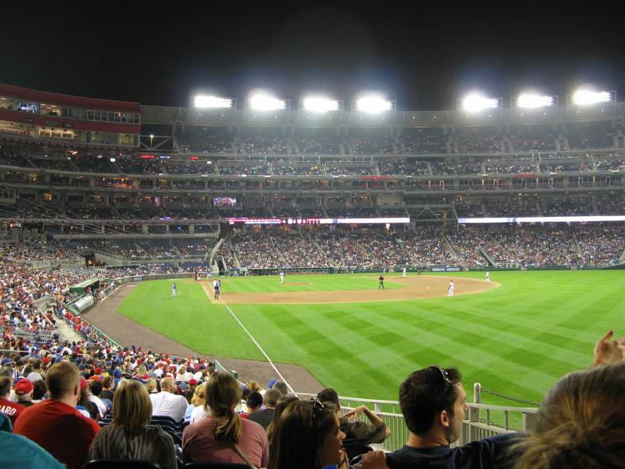 The+Nationals+Stadium+during+a+Nats+games+in+October+on+the+31st.