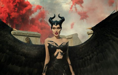Maleficent during the battle after receiving strength and power from another who died to save her.