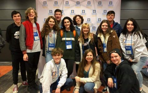 The FHS theater students spent their weekend competing and performing at the Virginia State Theater Conference at Shenandoah University.