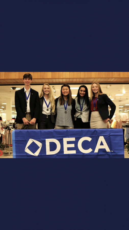 DECA students attended the Districts Leadership Conference on Jan. 8 in Winchester.