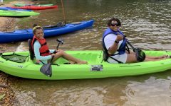 Last summer, Grace and her daughter visited Lake of the Woods in Locust Grove, Orange County VA, to go kayaking.