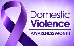 The month of October is a time to pay awareness to those affected by domestic violence.
