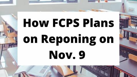 FCPS' Nov. 9 Reopening Plan
