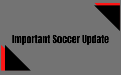 Boys & Girls Soccer Update