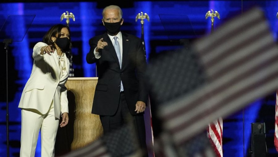After hearing the news, projected winners of the 2020 Presidential Election, Joe Biden and Kamala Harris made a speech in Delaware.