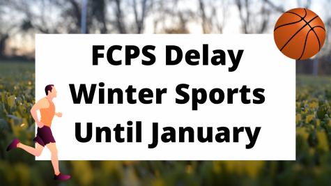 FCPS Postpones Winter Sports Until January