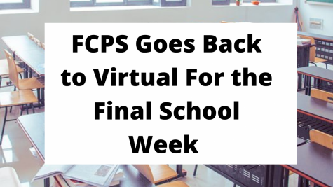 Rising COVID Cases Send FCPS Back to Virtual