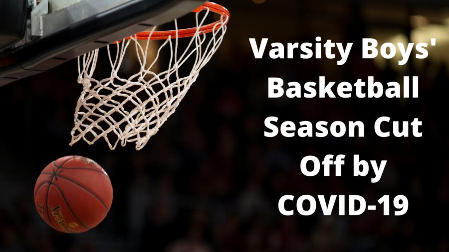 Varsity Boys' Basketball Season Cut Off by COVID-19