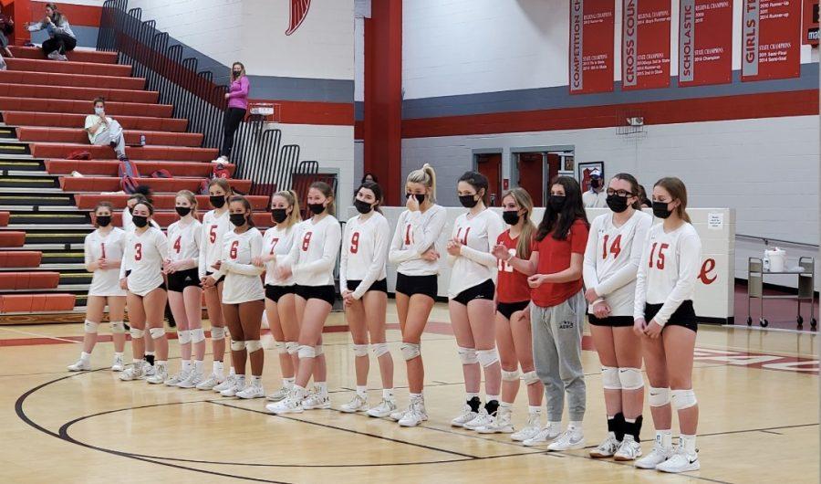 The FHS Girls Volleyball team is Northwestern District Champion.