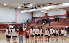 The FHS girl's volleyball team will play Loudoun Valley High School tomorrow, at home, in the Region 4C semifinals.