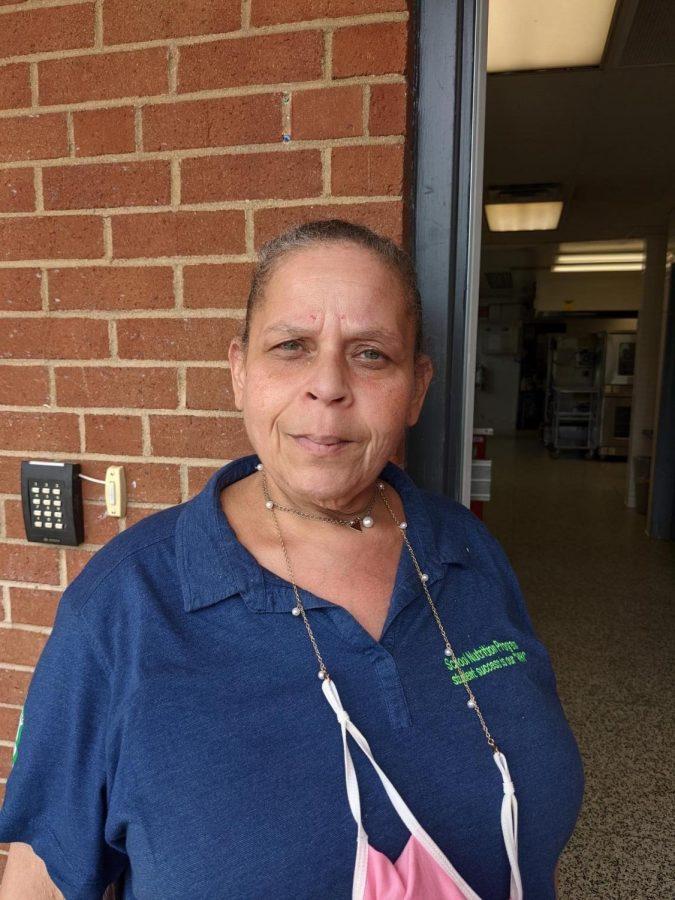 Tina Lewis, Food Service Worker