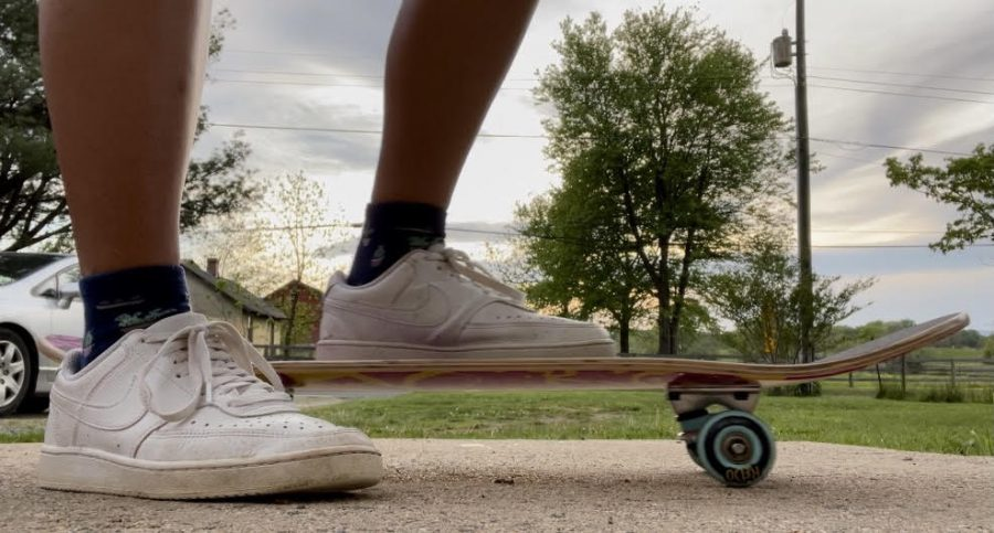 Skateboarding grows in popularity among students amid COVID-19 quarantine.