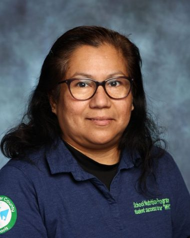 Maria Vasquez, Food Service Worker