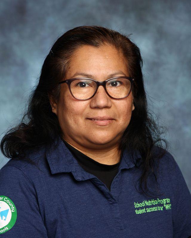 Maria Vasquez, Food Service Worker
