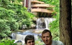 In her retirement Meyer looks forward to traveling. In 2019, she visited Fallingwater in Pennsylvania with her husband Dave.