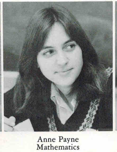 A 1984 picture from the Eyrie. Meyer, formerly Payn, is an FHS alumni.
