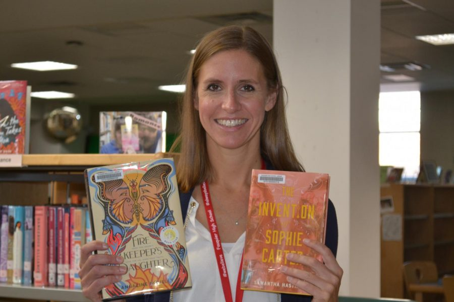 Rebecca Webster loves recommending books to students to foster a healthy reading habit in young adults.